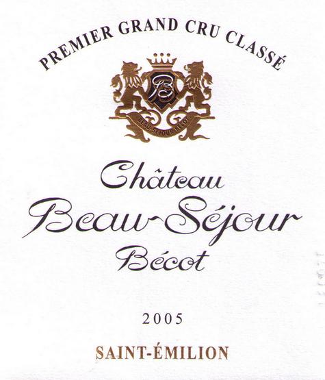 博塞贝戈城堡干红Chateau Beausejour Becot