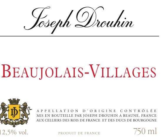 约瑟夫杜鲁安博若莱村干红Joseph Drouhin Beaujolais Villages