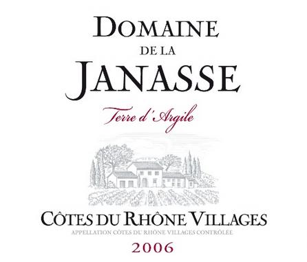 加纳斯粘土地干红Domaine de la Janasse Terre d'Argile