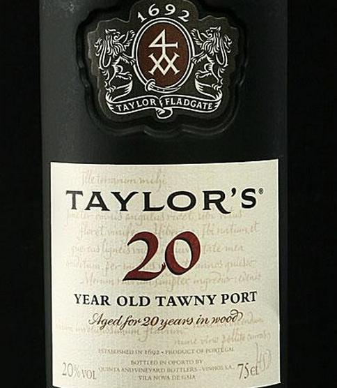 泰来特选二十年波特Taylor Fladgate 20 Year Old Tawny Port