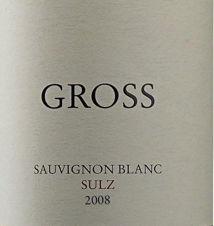 格莱士苏尔茨长相思干白Gross Sulz Sauvignon Blanc