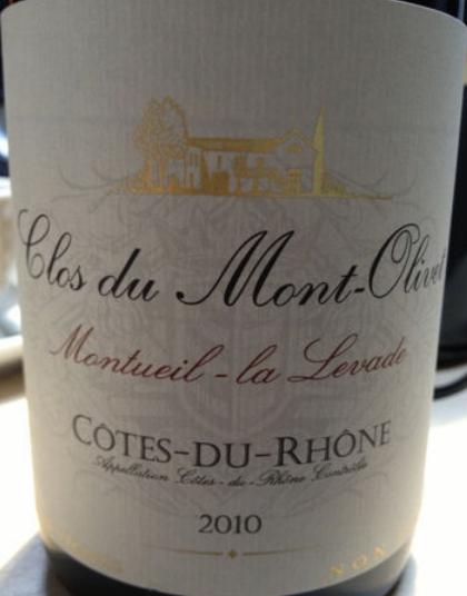 奥里维蒙特维园干红Clos du Mont Olivet Montuei la Levade