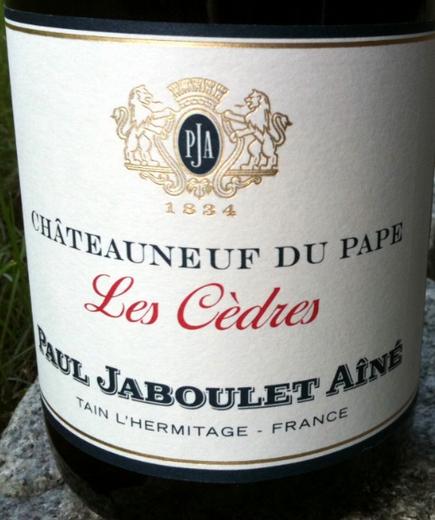 嘉伯乐赛德翰干红Paul Jaboulet Aine Les Cedres
