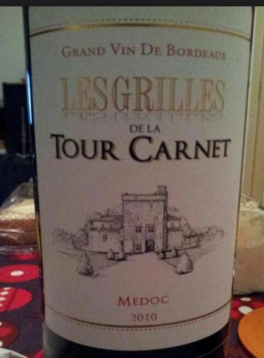 拉图嘉利酒庄副牌干红Les Grilles De La Tour Carnet