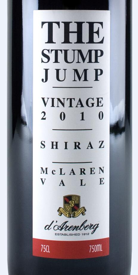 黛伦堡犁跃设拉子干红d'Arenberg The Stump Jump Shiraz