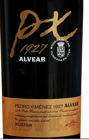 阿尔维亚佩德罗希梅内斯甜白Alvear Pedro Ximenez