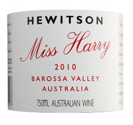 紫蝴蝶庄园千金园红葡萄酒Hewitson Miss Harry