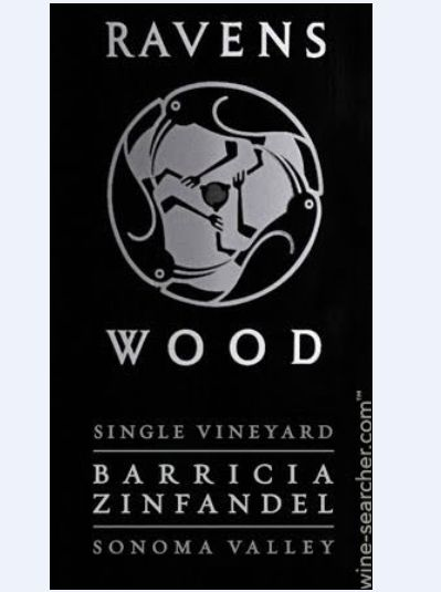 艾文思伍德酒园单一葡萄园仙粉黛干红Ravenswood Winery Single Vineyard Barricia Zinfandel
