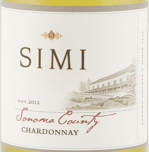 思美索诺玛霞多丽干白Simi Sonoma County Chardonnay