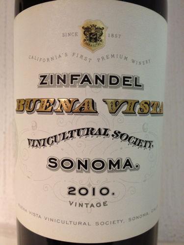 维斯塔社会仙粉黛干红Buena Vista Winery Vinicultural Society Zinfandel