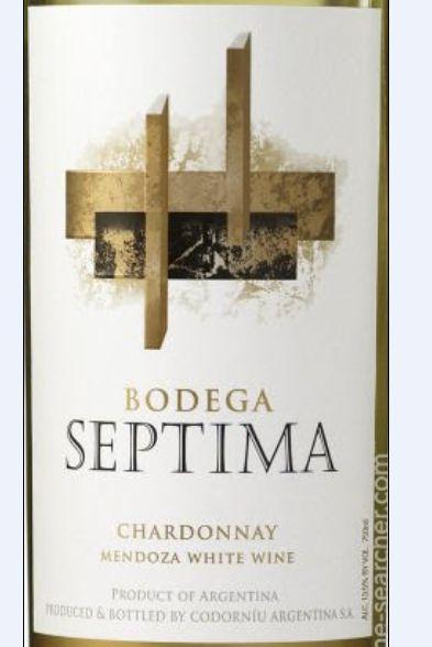 赛马酒园霞多丽干白Bodega Septima Chardonnay