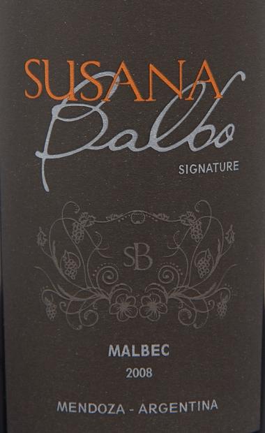 德米诺酒庄苏珊马尔贝克干红Susana Balbo Malbec