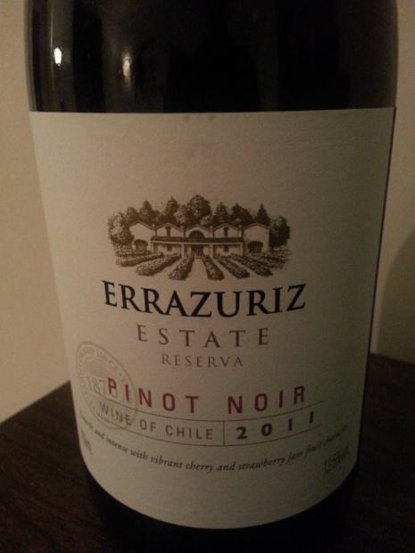 伊拉苏庄园珍藏黑皮诺干红Errazuriz Estate Reserva Pinot Noir