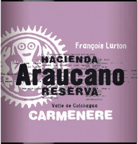 露顿阿诺卡珍藏卡曼尼干红Hacienda Araucano Reserva Carmenere