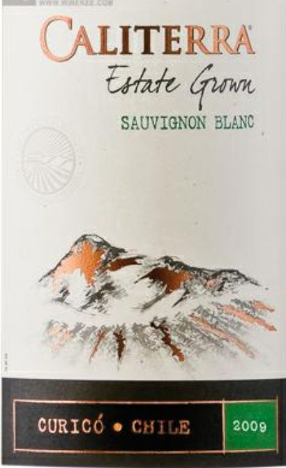 圣地酒园颂维翁布朗克干白Caliterra Estate Grown Sauvignon Blanc