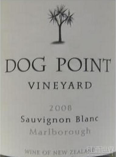 多吉帕特长相思干白Dog Point Vineyard Sauvignon Blanc