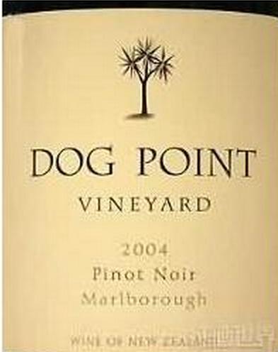 多吉帕特黑皮诺干红Dog Point Vineyard Pinot Noir