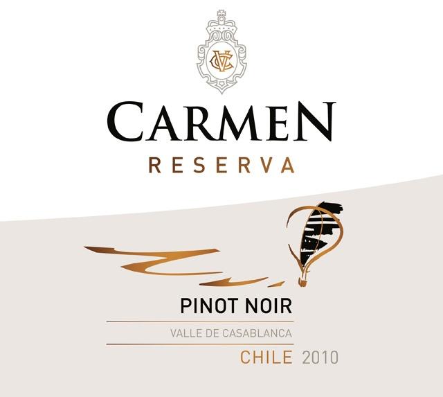 卡门珍藏黑皮诺干红Carmen Reserva Pinot Noir