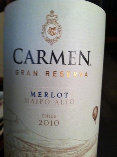 卡门酒庄顶峰梅洛干红Carmen Gran Reserva Merlot