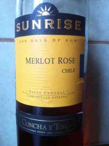 干露旭日梅洛桃红Sunrise Merlot Rose