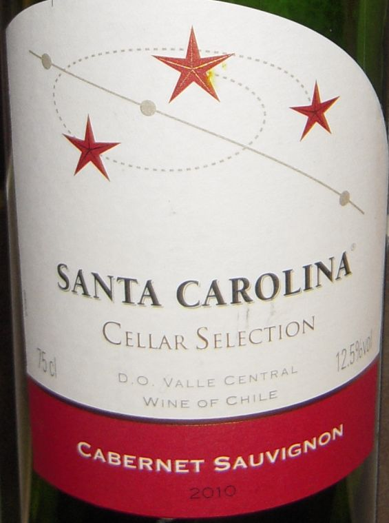 圣卡罗窖选赤霞珠干红Santa Carolina Cellar Selection Cabernet Sauvignon