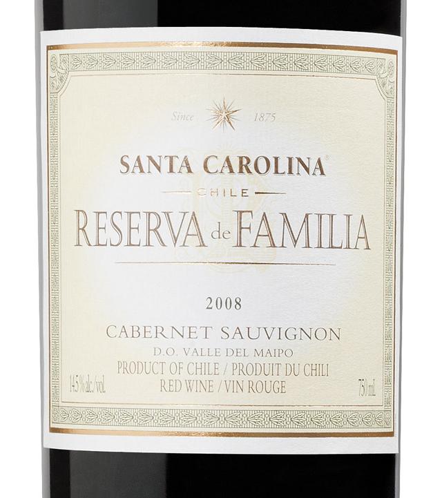 圣卡罗家族珍藏赤霞珠干红Santa Carolina Reserva De Familia Cabernet Sauvignon