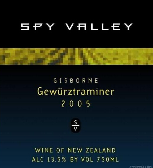 谍谷琼瑶浆甜白Spy Valley Gewurztraminer