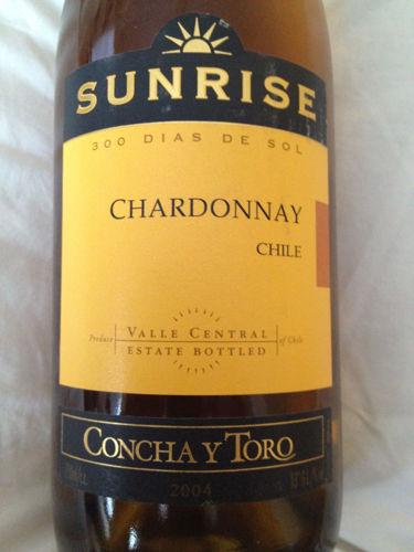 干露旭日霞多丽干白Sunrise Chardonnay