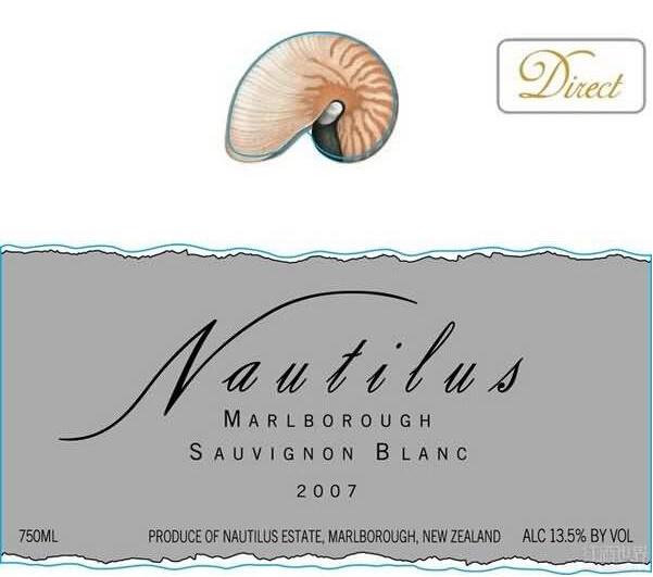 鹦鹉螺长相思干白Nautilus Sauvignon Blanc