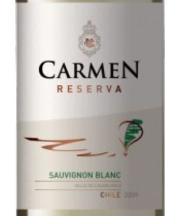 卡门珍藏长相思干白Carmen Reserva Sauvignon Blanc