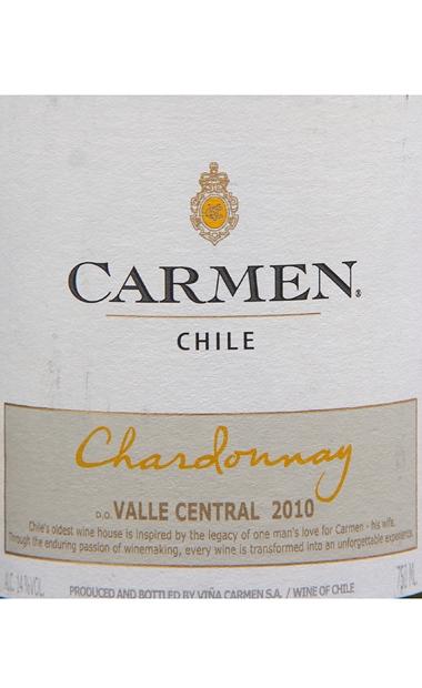 卡门霞多丽干白Carmen Classic Chardonnay