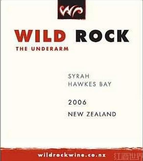 俏石梦想者西拉干红Wild Rock The Underarm Syrah