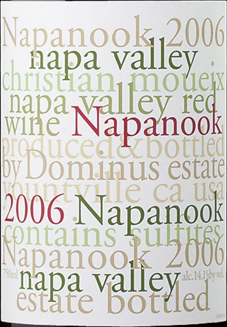 多明纳斯纳帕努克干红Dominus Estate Napanook