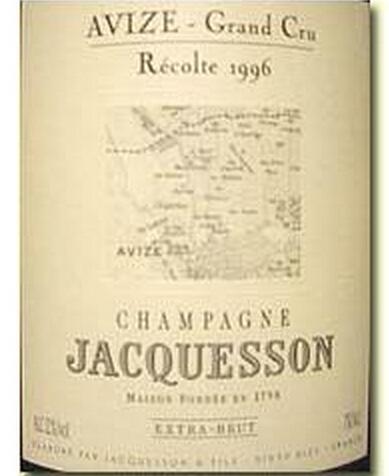 雅克森阿维兹列级园霞多丽白香槟Jacquesson Et Fils Avize Grand Cru Extra Brut Chardonnay