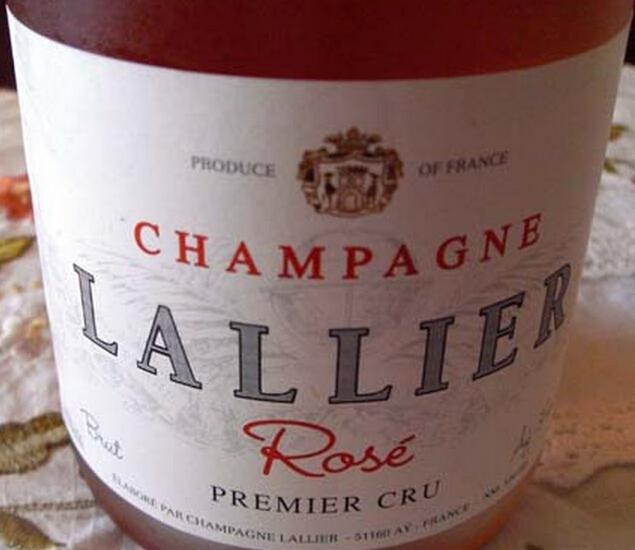 乐蕾一级园桃红香槟Lallier Cuvee Premier Cru Rose
