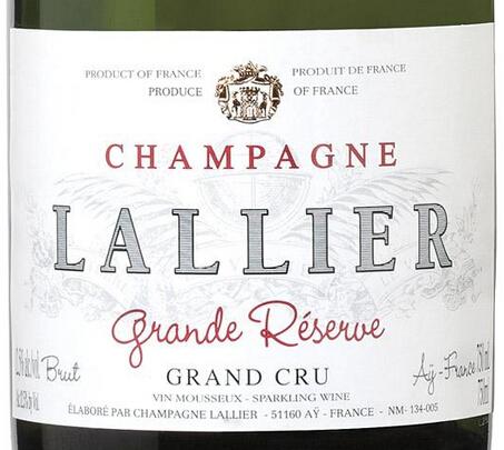 乐蕾酒庄列级园珍藏香槟Lallier Cuvee Grande Reserve Grand Cru