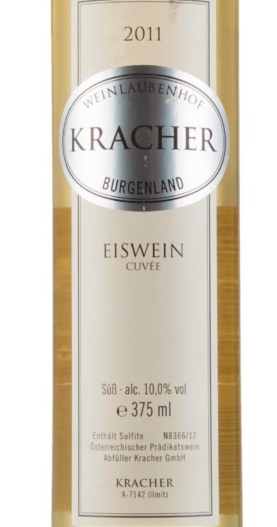 格莱士冰酒Weinlaubenhof Kracher Cuvee Eiswein