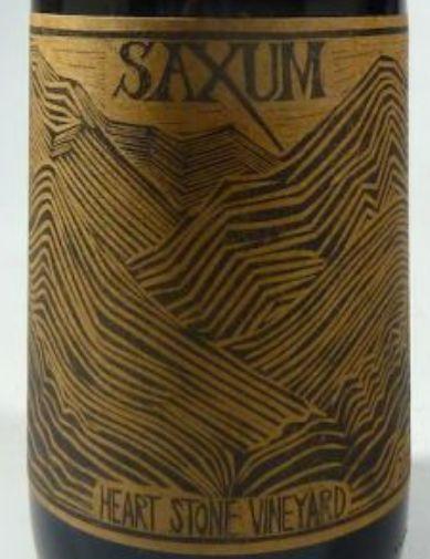 萨克斯姆心石园干红Saxum Heart Stone Vineyard