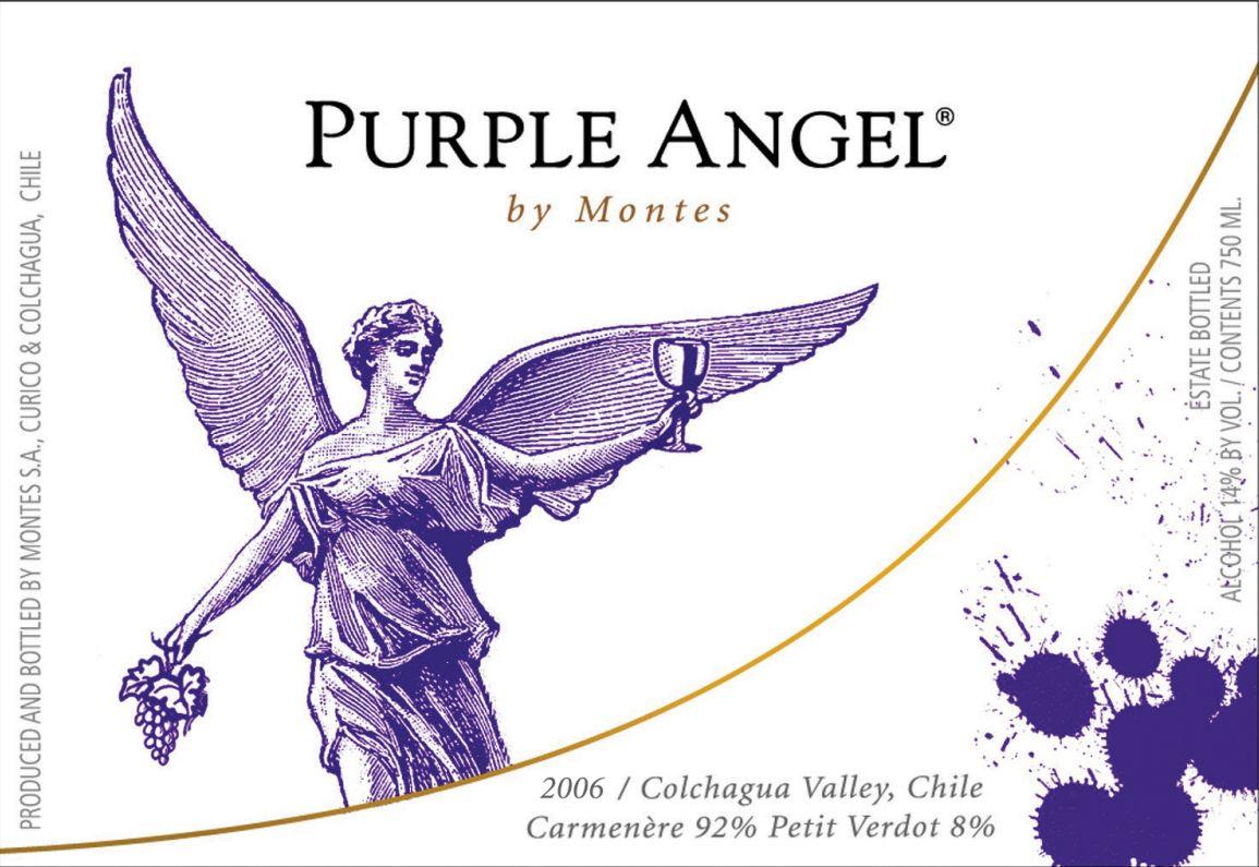 蒙特斯紫天使干红Montes Purple Angel
