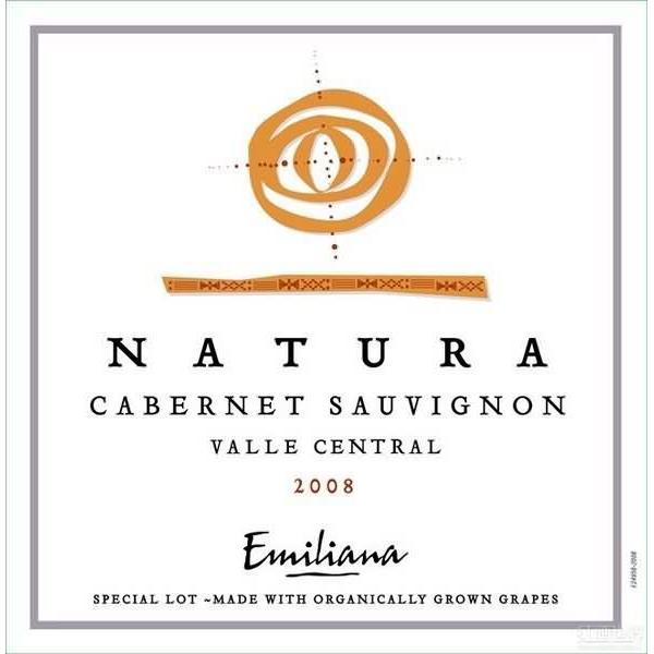 埃米利亚纳天然赤霞珠干红Emiliana Natura Cabernet Sauvignon