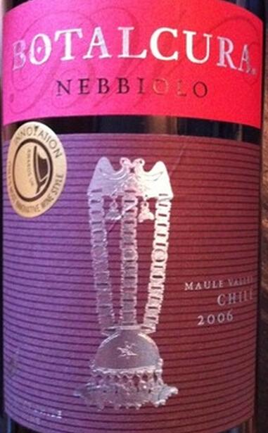 博塔卡拉内比奥罗干红Botalcura Nebbiolo