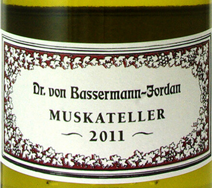 巴塞曼乔登麝香干白Dr. von Bassermann-Jordan Muskateller
