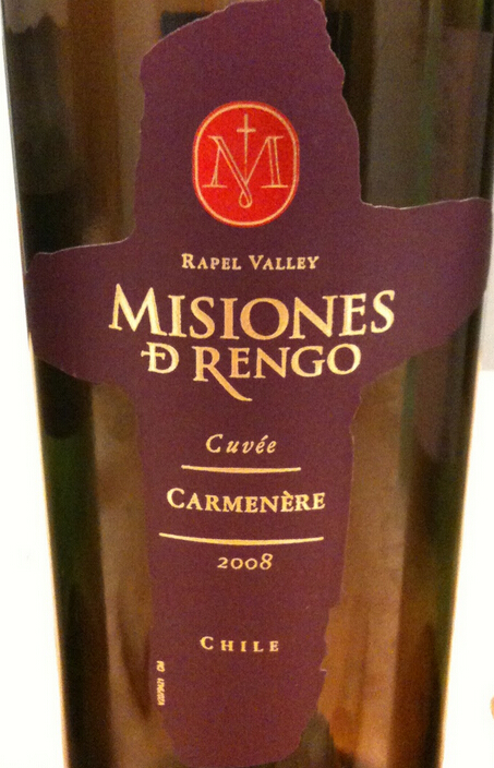 万轩士特酿佳美娜干红Misiones de Rengo Cuvee Carmenere