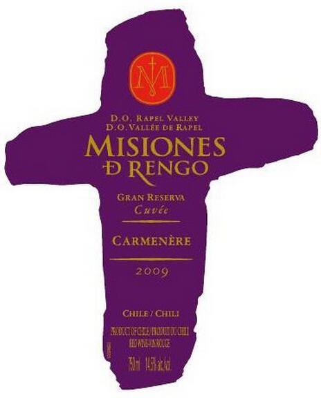万轩士特级珍藏佳美娜干红Misiones de Rengo Gran Reserva Cuvee Carmenere