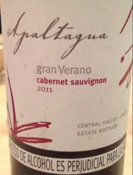 阿帕塔瓜格兰维莱诺赤霞珠干红Apaltagua Gran Verano Cabernet Sauvignon