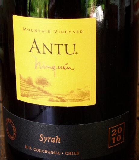 云顶山安图西拉干红Ninquen Antu Mountain Vineyard Syrah