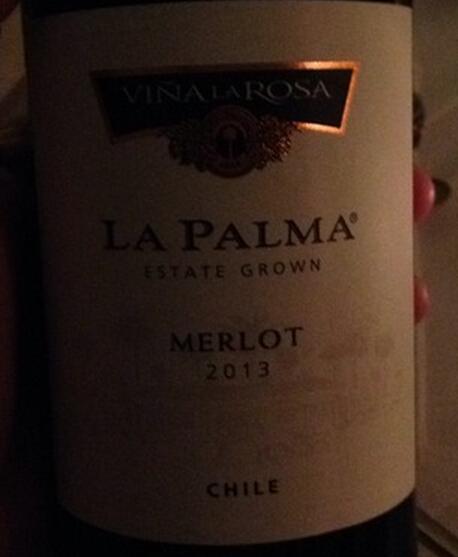 罗莎澎马梅洛干红Vina La Rosa La Palma Estate Grown Merlot