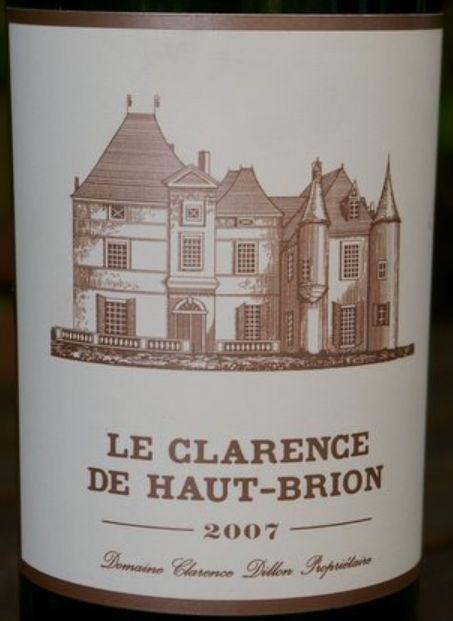 小奥比良干红Le Clarence de Haut Brion