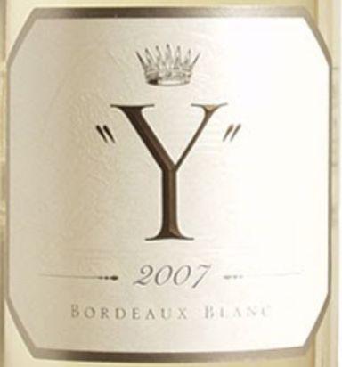 滴金酒庄干白Château d'Yquem Y Blanc
