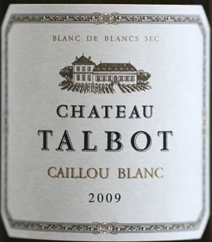 大宝白石干白Chateau Talbot Caillou blanc